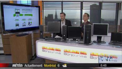 Émission Salut, bonjour! avec François Charron sur TVAInsertech ...