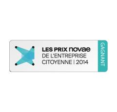 Prix Novae de l'entreprise citoyenne 2014