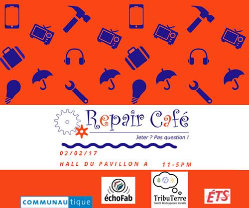 Repair Café ÉTS 20170202