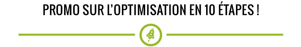 Promo sur l'optimisation
